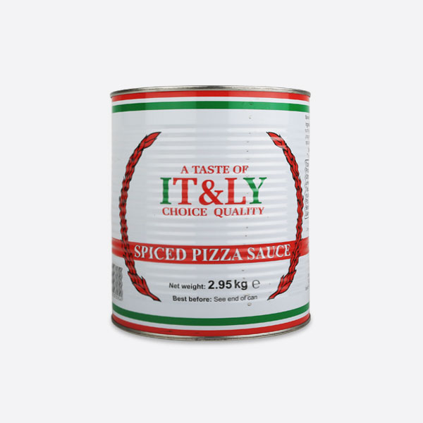 TASTE OF ITALY SPICED PIZZA SAUCE | CQS - Continental